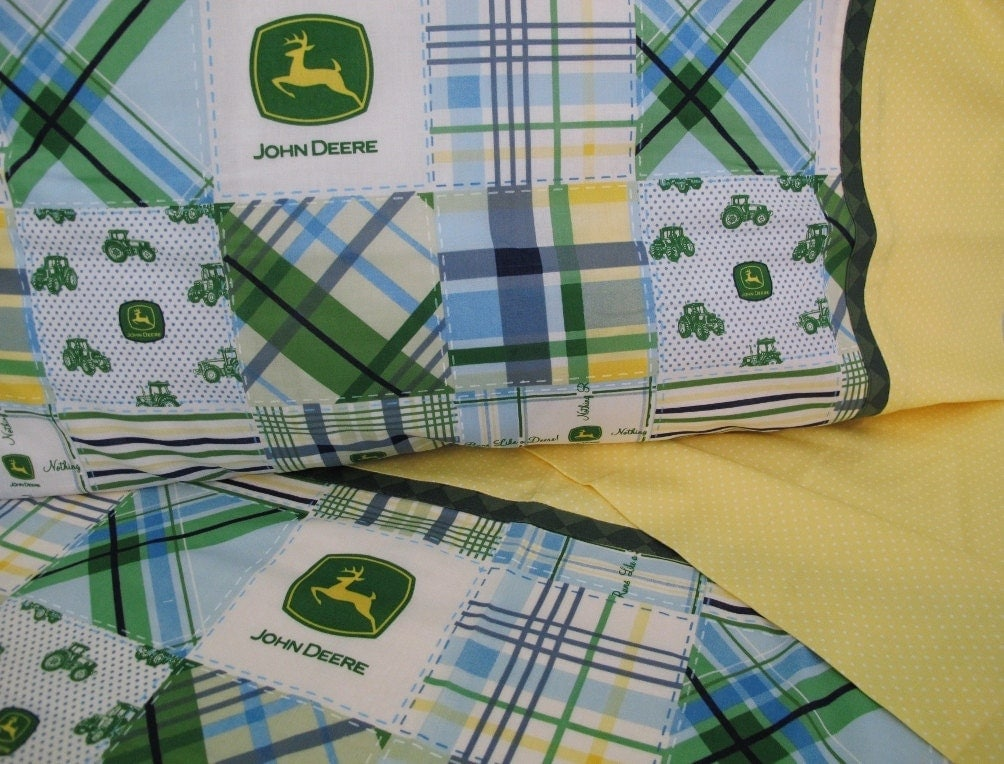 John Deere fabric nursery toddler bedding John Deere by ...