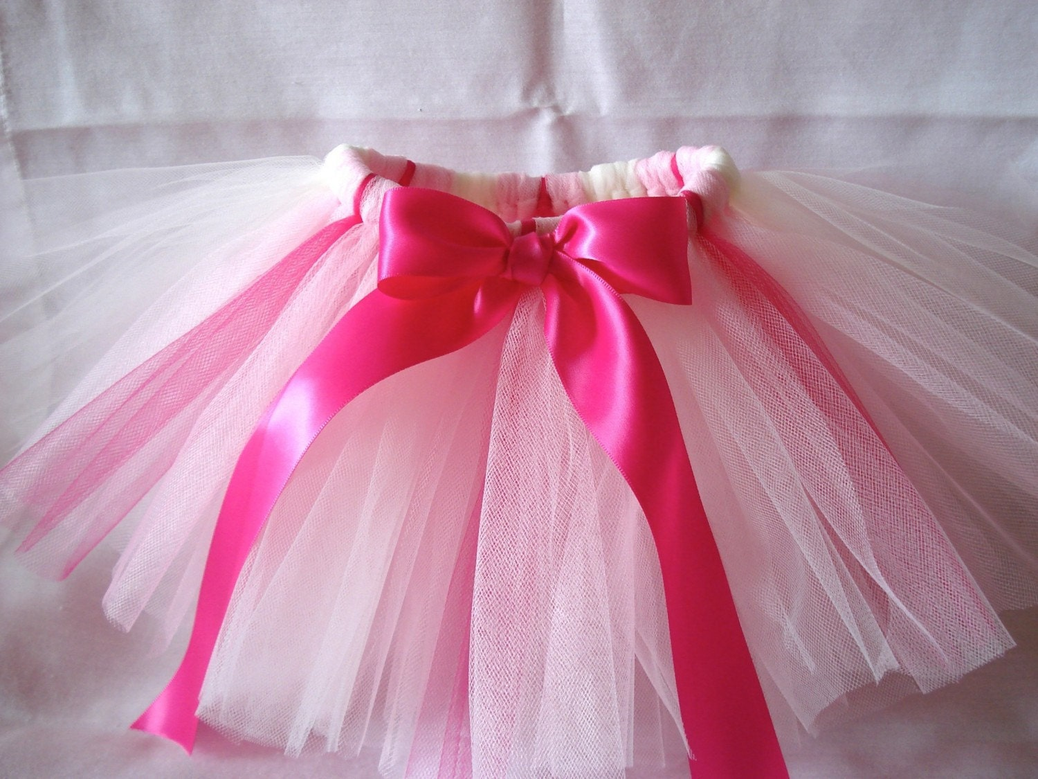 Strawberries 'n Cream Tutu - 8 in