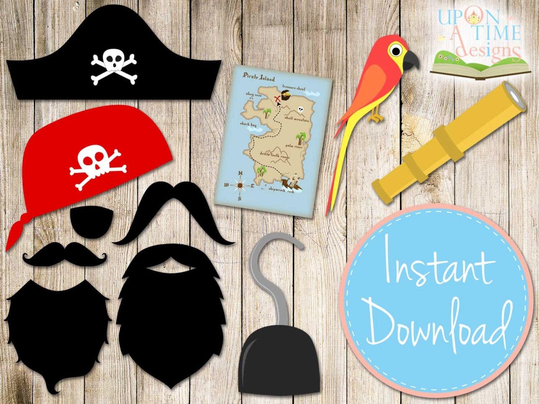 Как сделать из бумаги пиратов