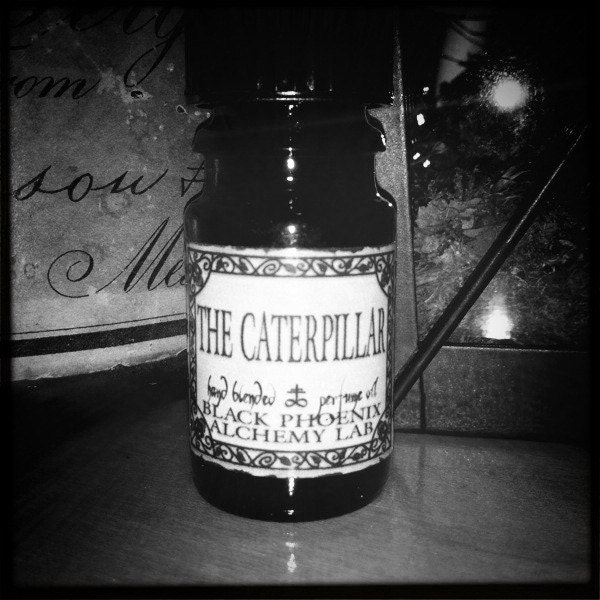 The Caterpillar: Black Phoenix Alchemy Lab Alice in Wonderland Perfume Oil