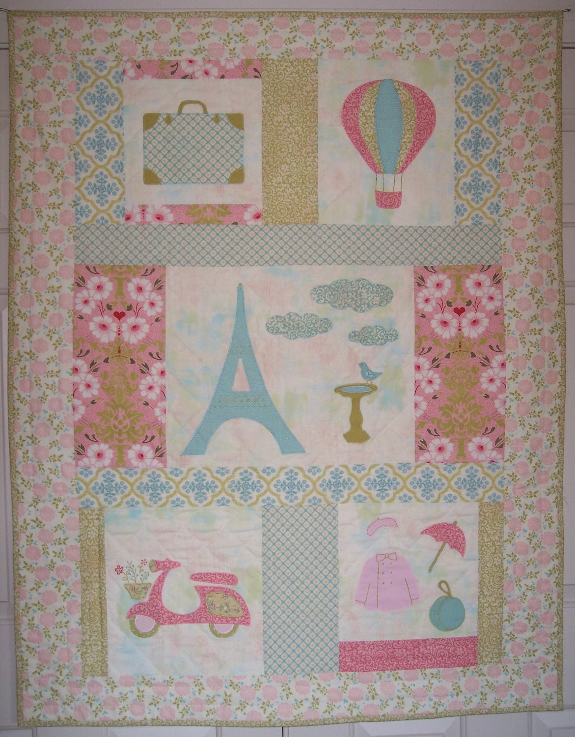 Quilt Patterns For A Girl : Unavailable Listing on Etsy