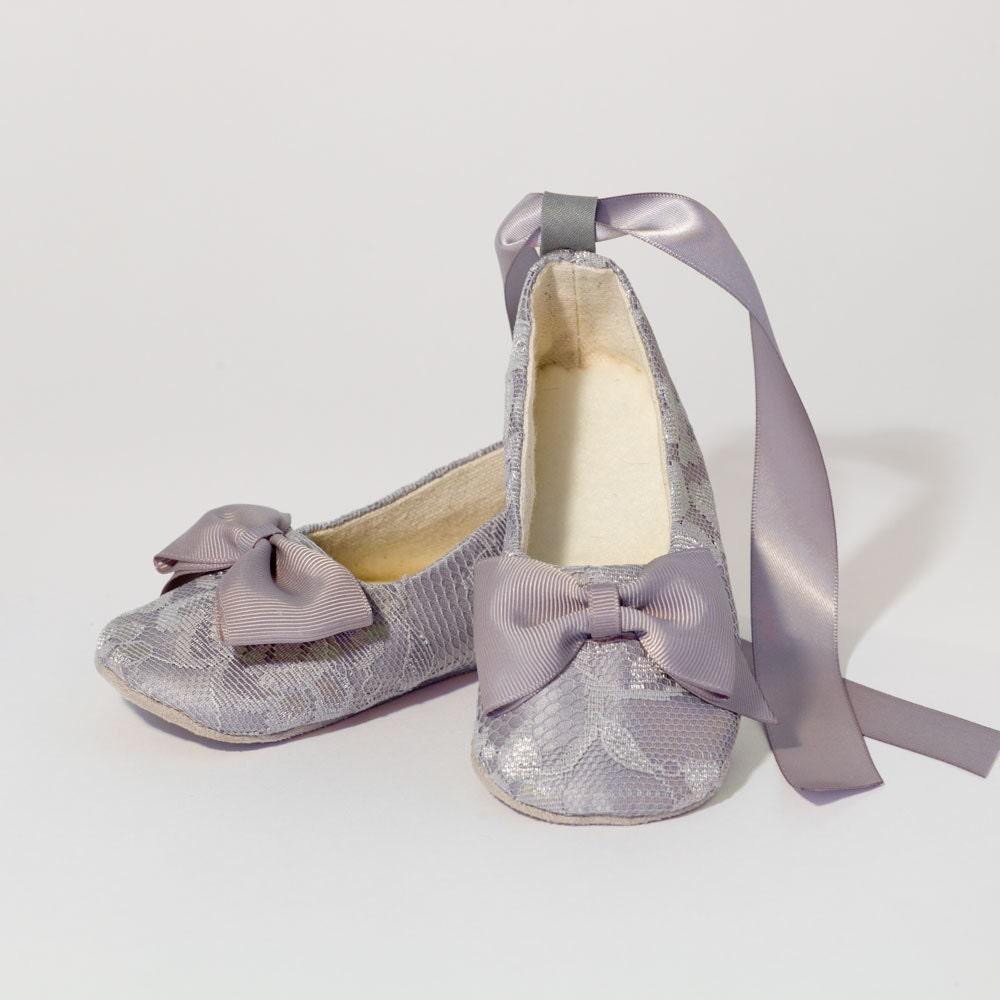 Pretty blue ballet slippers birthday invite on popscreen