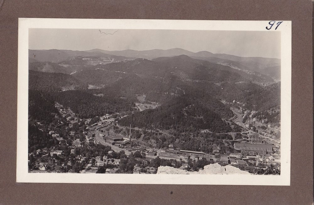 Vintage Black and White Photograph Scenic View 1930s vp031