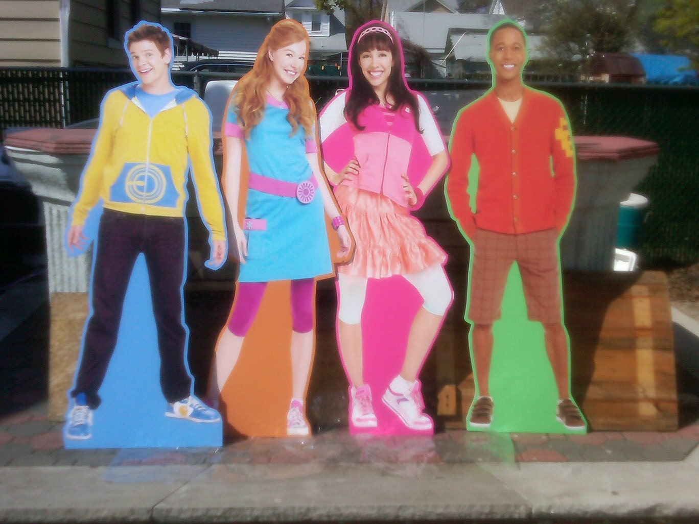 standees cut outs life size poster personalized by