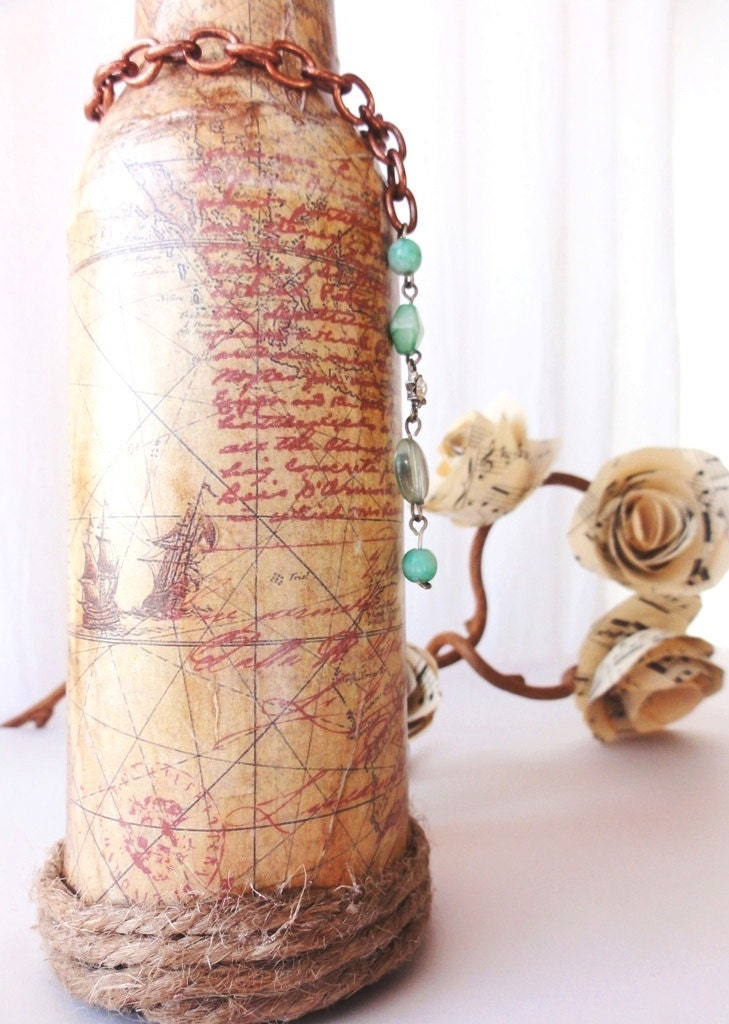 Адель-Vintage Бутылка Ваза, таблица центральным для свадьбы, дожди и Сторонам