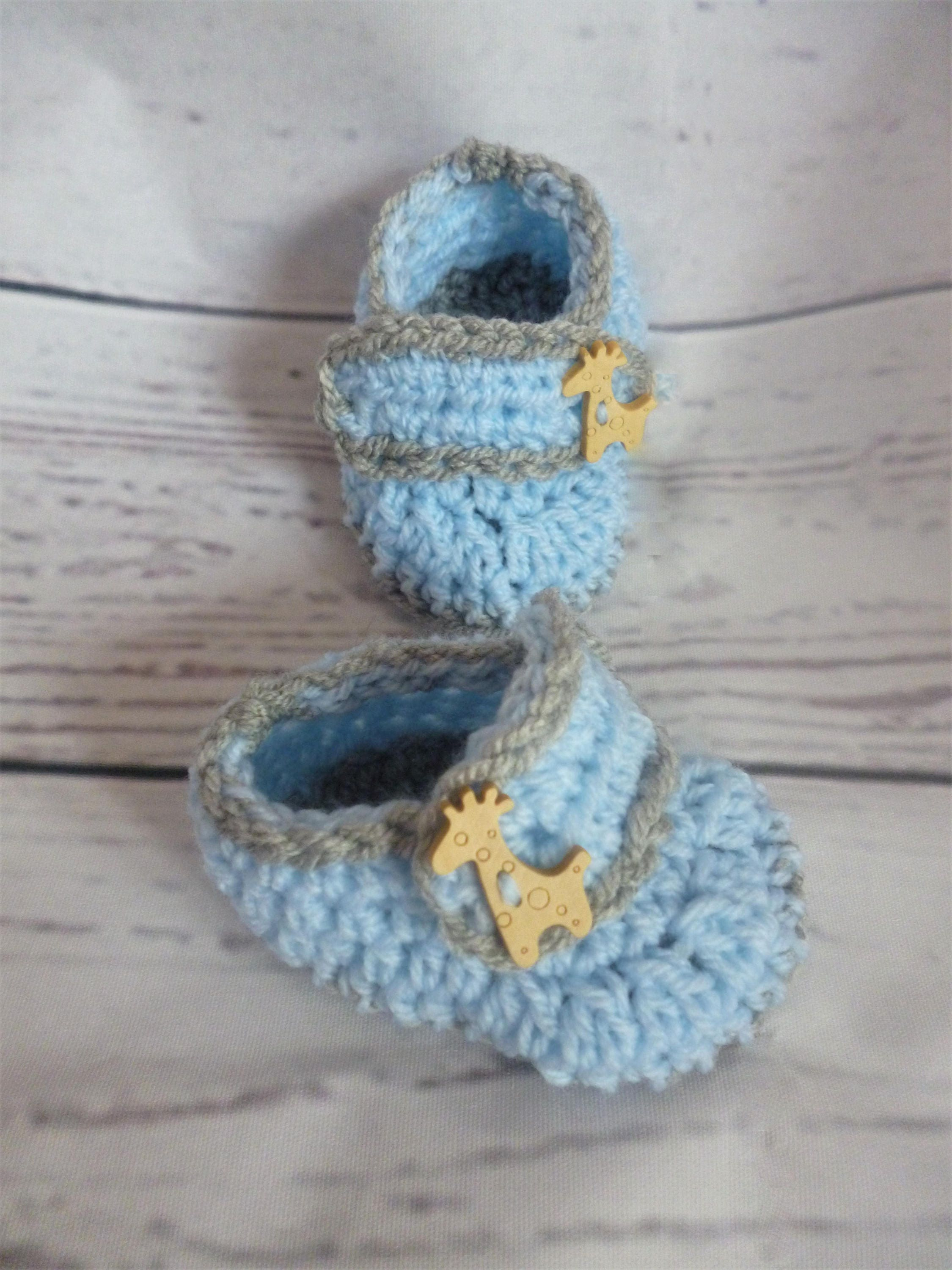 crochet baby shoes blue baby shoes baby boots baby boy baby bootees handmade shoes giraffe shoes knitted shoes baby shower gift