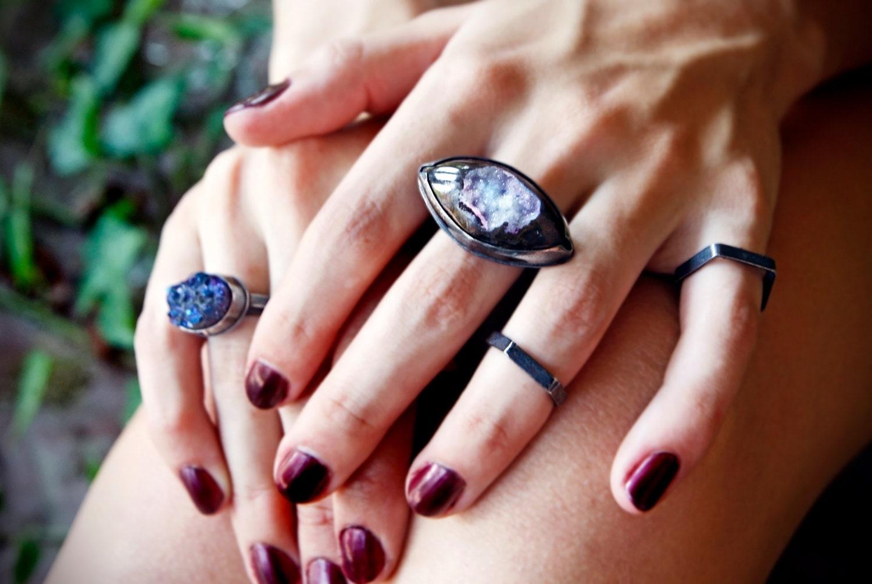 VESPA commune bagues - bagues en argent sterling pour vos doigts mixte