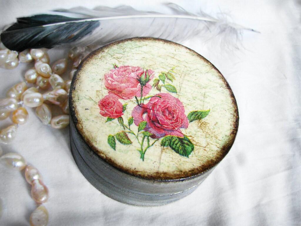 Декоративная коробка для драгоценностей Он позвонил мне дикой розы доставки по всему миру