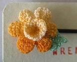 Crochet hairclip