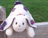 Adorable Stuffed Patchwork Bunny
