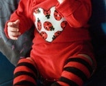 DESIGN YOUR OWN--LADYBUG LOVE--APPLIQUED ONESIE and LEG WARMER COMBO--CHECK LISTING FOR SIZE and COLOR AVAILABILITY