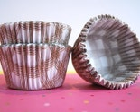 Jumbo Cupcake Muffin size Gold Baking Liners (48)