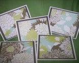 Set of 5 Amy Butler Blank Notecards--BOGO 1/2 OFF SALE