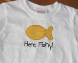 Applique Goldfish Shirt or Onesie - Embroidered Personalized