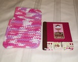 NEW Crocheted Holder with Address Book