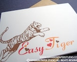 Easy Tiger   Notecards-Set of 10