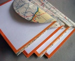 Recycled  Map Stationery - Arizona New Mexico
