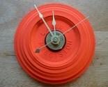 Shotgun Clay Pigeon Target Skeet and Trap Wall Clock - Brass Hands