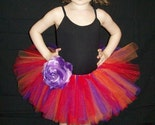 SUMMER SUNSET TUTU... FAST SHIPPING ... great for pageants, dress up, princess parties, photo props, portraits, dance, ballet, jazz, fairs, parades, and more