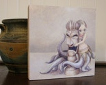 Wood-mounted Print - huladollsquidgirllovestiki