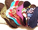 Ultimate Starter Set of 20 Reusable Cloth Menstrual Pads. Buy More and SAVE.