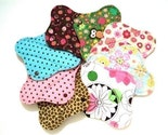 Your Choice Reusable Cloth Menstrual Pad Sampler Starter Set of 3.