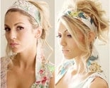 Bridesmaid Set. 4 Headbands/Scarfbands.