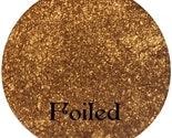 FOILED Metallic Golden Chrome Mineral Makeup Eyeshadow Pigment 3 gram Jar