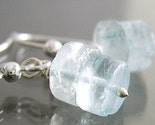 Icy Stacked Aquamarine Earrings