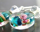Fairamay Lamp Work Glass Earrings
