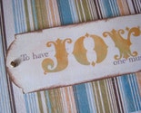 SALE   5 Announcement Cards- Set of 5- To have JOY one must share it, Lord Byron, Handmade, OOAK- FREE SHIPPING