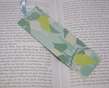 Blue Designer laminated bookmark