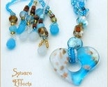 EBTW-on SALE-Turquoise heart lariat necklace