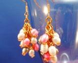 Earrings Bunch o'pearls