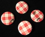 Ant Picnic Buttons Summer Pins