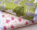 Burp Cloth Set of 2 - FLOWERS II