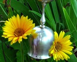 Bottoms Up - Silverplated Goblet Spoon Wind Chime