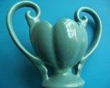 very vintage green vase