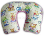 FREE SHIPPING - Traveling Toddler - Teacup Kittes - Pink Minkee - Luxury Lounge Travel Wrap Pillow