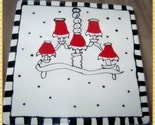 OoH La La Red Chandelier Dry Erase Tile