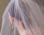 Whispy Bridal Veil with a Touch of Sparkle-by First Love Designs