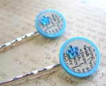 Vintage Dictionary Wish Hair Bobby Pins