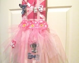 Fancy Nancy Gal tutu Bow Holder, Boutique, custom, OOAK
