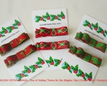 CLEARANCE (HOLIDAY EXTRAVAGANZA) - Duo Of No Slip Alligator Clips