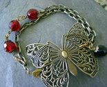 Butterfly Filigree Bracelet