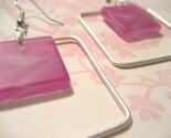 Hot Pink Squares