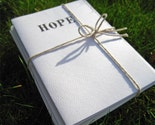 Hope - Recycled Paper Cards - Pack of 5