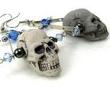Deathly Triangle Earrings