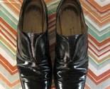 Vintage Men's Black Loafer Dress Shoes Size 9