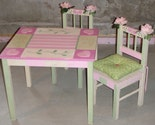 Custom Hand Painted Child's Table